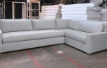 Parisian Track Arm Sectional Sofa 0