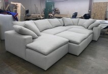 Cloud U Sectional 7363
