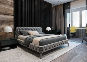 all over tufted bed restoration hardware