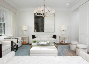 White Living room 321