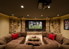media-room-basement-remodel