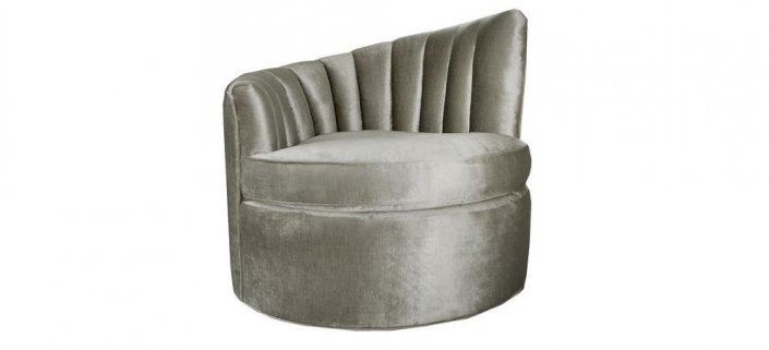 Bally Chair Silver