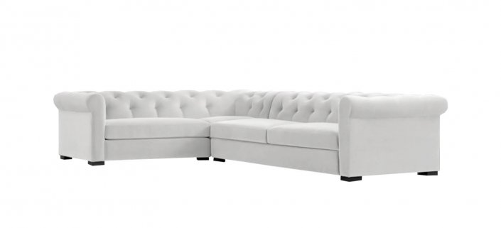 Modern Chesterfield Sectional