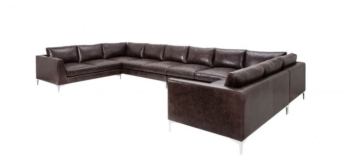 Envy Leather Sectional