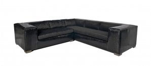 Norton Leather Sectional